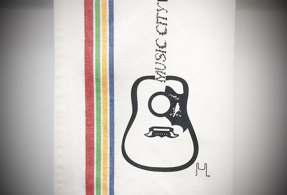 Gibson Dove Guitar Tea Towel - Original Art