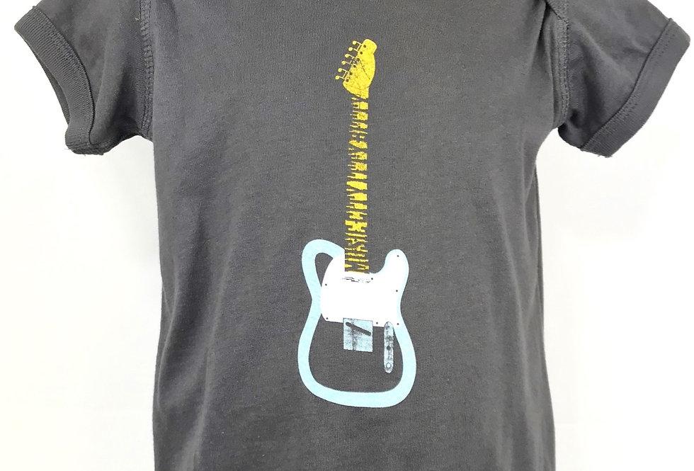 "Telecaster Guitar ""Music City Itty Bitty""  Onesie - Original Art"