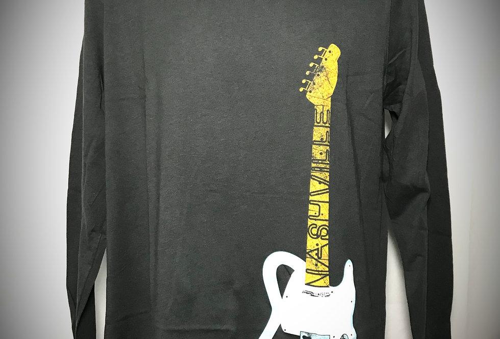 Telecaster Guitar Unisex Long Sleeve