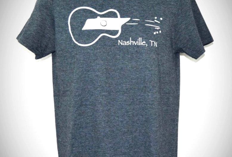 Tennessee Sideways Guitar Unisex Crew