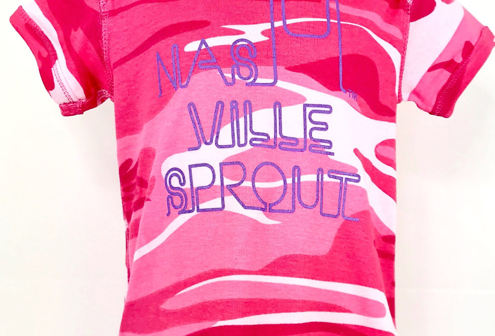 """""""Nashville Sprout"""" Onesie - Original Art"""