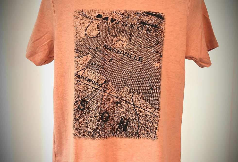 Nashville Map Shirt