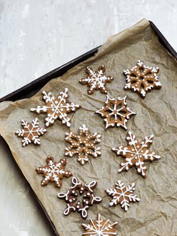 kerst collectie kerstkoeken gedecoreerd