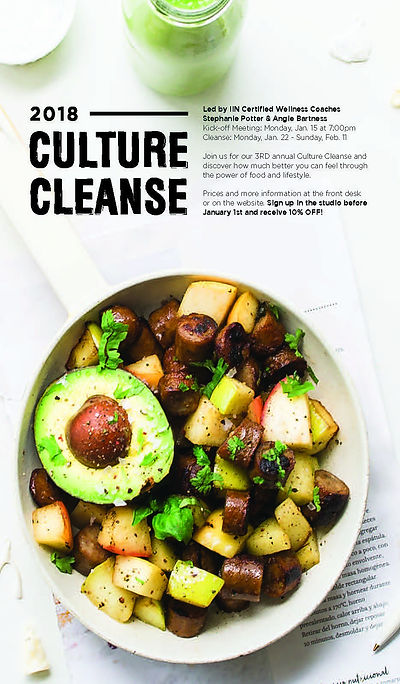 2018 Physical Culture Cleanse