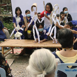 Paper-puppetry workshop