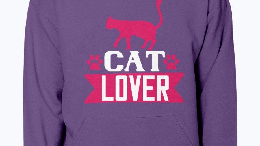 Cat Lover - Cat- Hoodie Unisex