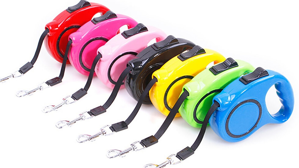 3M Dog Collars and Leashes Pet Dog Cat Puppy Automatic Retractable Leash