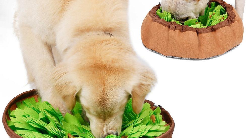 Dog Snuffle Mat IQ Training Slow Eat Bowl Dog Puzzle