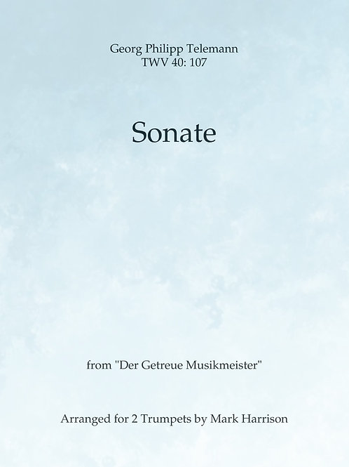 Sonate for 2 Melodic Instruments - George Phillip Telemann
