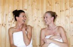nelson day spa sauna