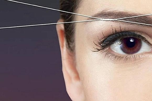 Threading  eyebrown /lip /chin  and face