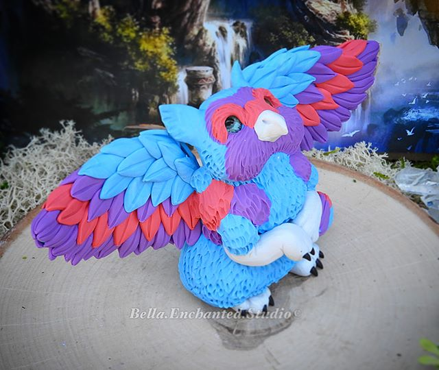 My last custom Feather Drift was a cutie