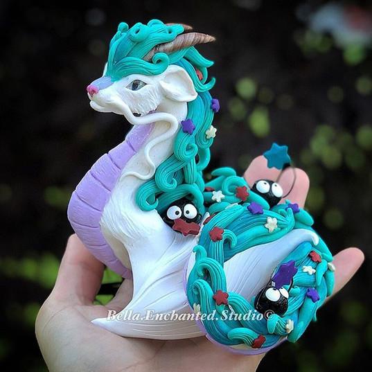 A Custom Haku Dragonkin for _neposan.406