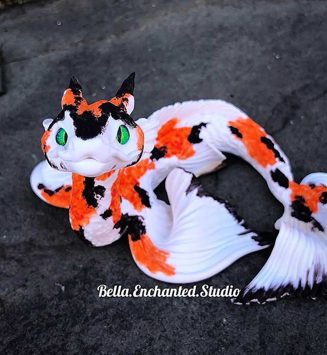 Etsy update in less than 2 hours at 6pm EST! This is one of 23 dragonkin available for adoption! His