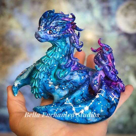 watercolor pisces large dragonkin