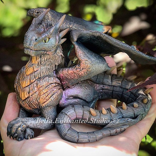 A magical Dragonheart Draco Custom for _
