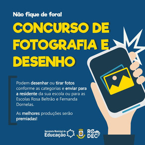 REDEC PROMOVE CONCURSO DE FOTOGRAFIA E DESENHO