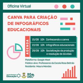 CANVA PARA CRIAÇÃO DE INFOGRÁFICOS EDUCACIONAIS