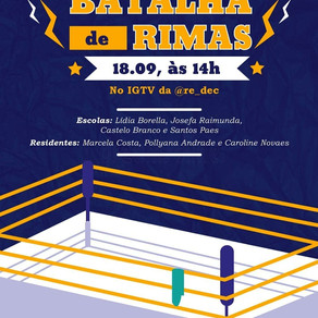 ENGAJANDO ALUNOS REMOTAMENTE: BATALHA DE RIMAS