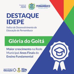 Redec e Hub Educat Comemoram o Crescimento de Glória do Goitá  no IDEPE