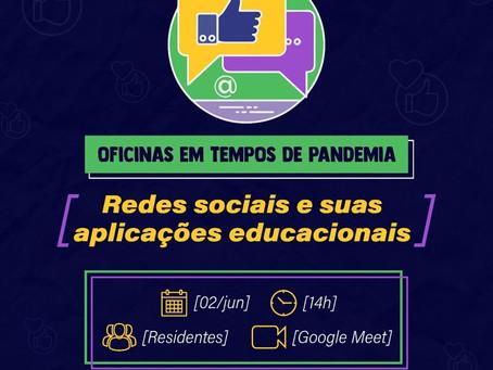 PROFESSORES DE GLÓRIA DO GOITÁ TÊM OFICINA ONLINE SOBRE REDES SOCIAIS PARA ATIVIDADES REMOTAS