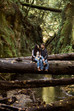 Intimate Redwood Engagments