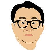 三谷幸喜イラスト似顔絵