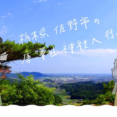 栃木県佐野市 唐澤山神社へ行ってみた!