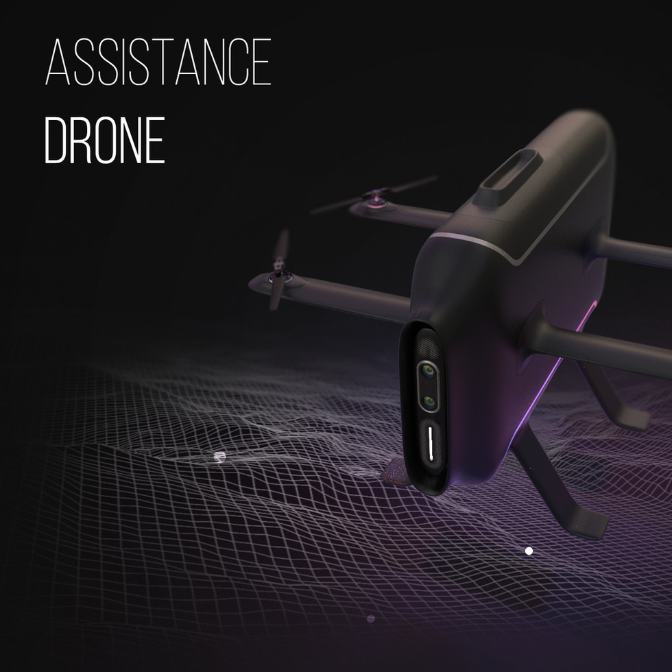 Community Assistant Drone