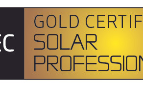 Greg Wylie recently awarded a Gold REC Professional Installer