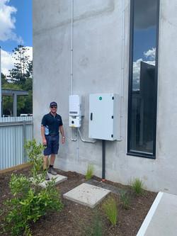 SolarEdge installation