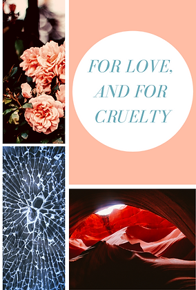 For Love, and for Cruelty - Audiobook