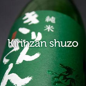 Kirinzan, saké de Niigata, japanese sake, Junmai, Green Bottle, Kirinzan Shuzo, Niigata