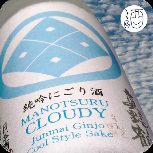 Saké Manotsuru Junmai Ginjo Nigori japanese sake