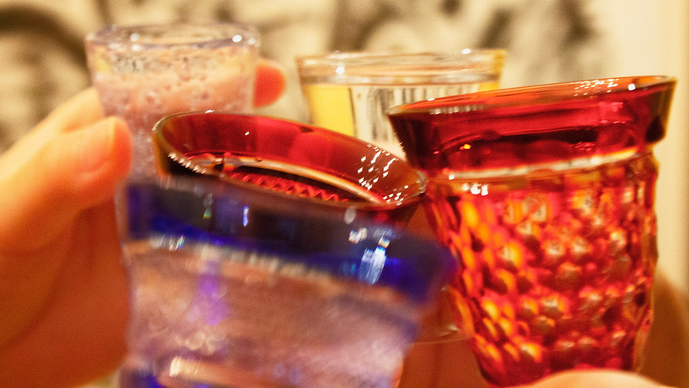 Monsieur Saké, private importation, edo kiriko, Kempai,  献杯, 乾杯, japanese sake, sake, saké