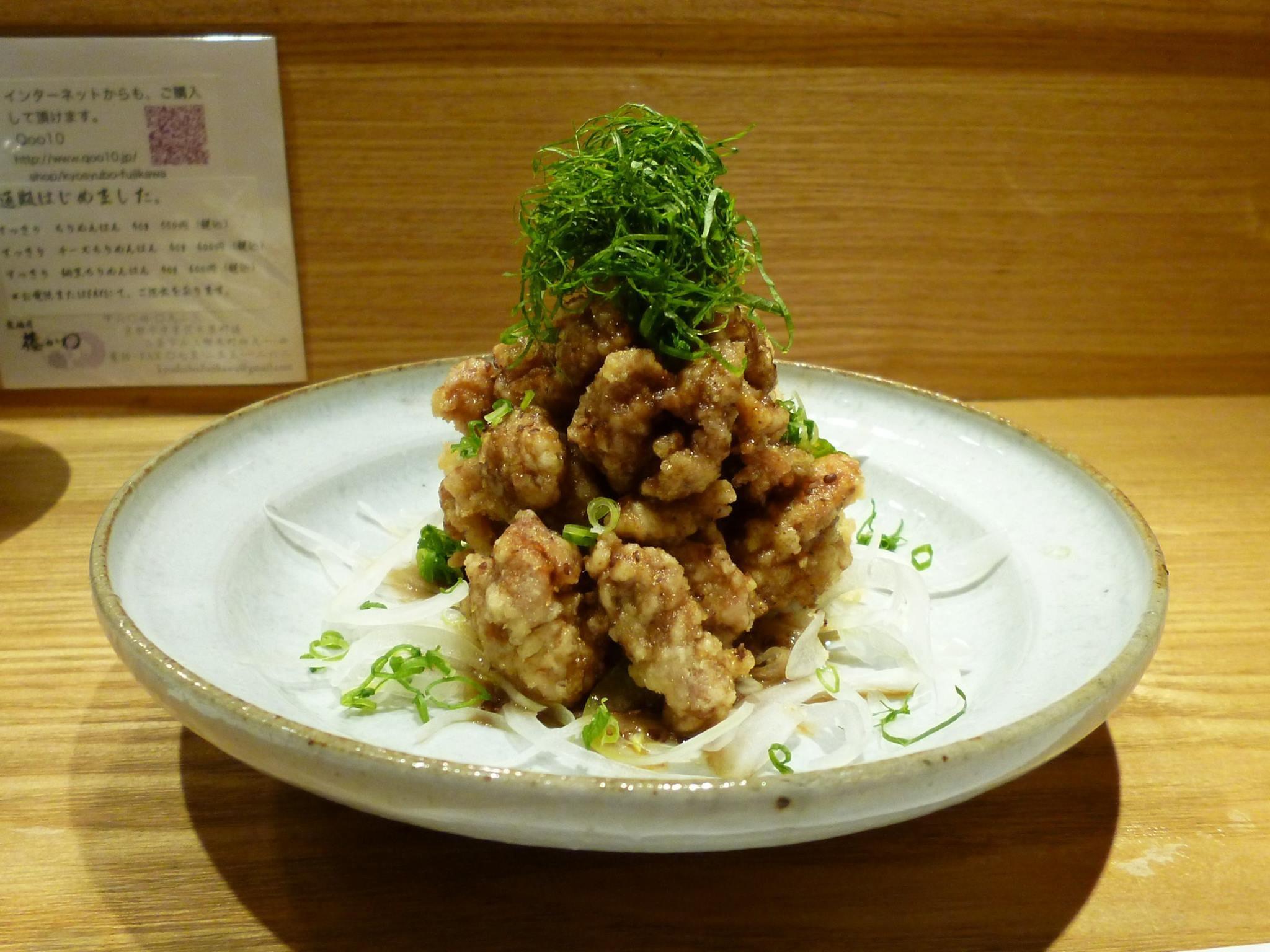 鶏の唐揚げ美味しいソース