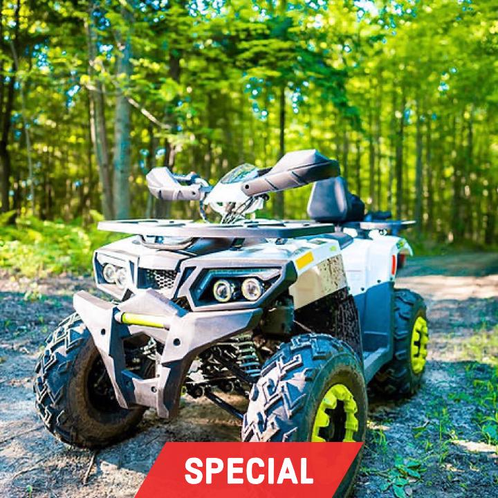 1 Hour Off-Road ATV Adventure  $129+Tax