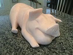 Kitchen Counter Pig