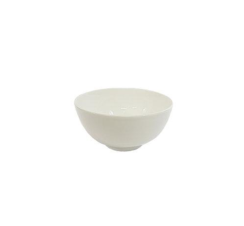 "#807202 RICE BOWL-BONE CHINA-4"" 白色骨瓷飯碗(6 PCS)"
