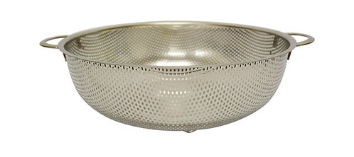 #800251 STAINLESS STEEL PUNCHING HOLE BASKET -28.5CM 不鏽鋼沖孔籃