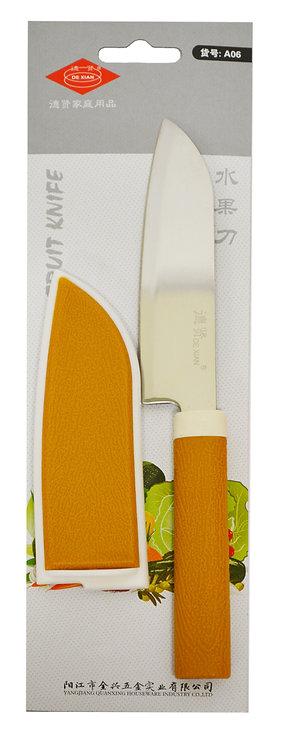#801483 FRUIT KNIFE-A06 水果刀附套