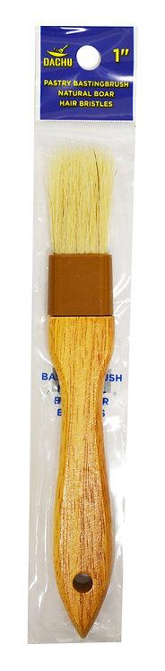 "#801320 BOAR  PASTRY BRUSH-1""  木柄刷"