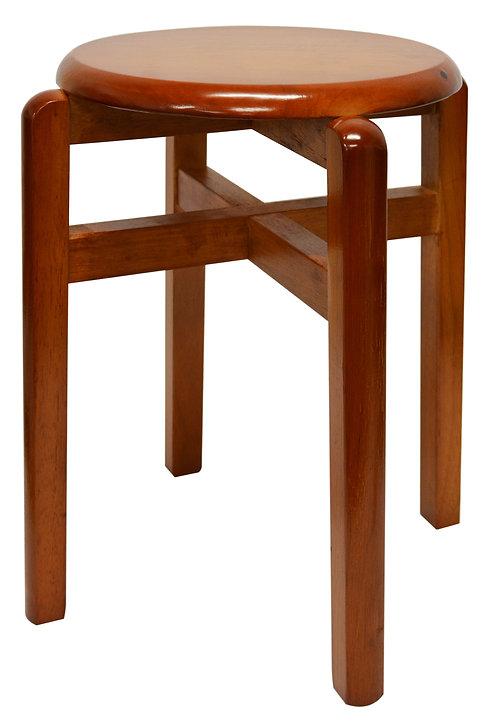#805222 WOODEN HIGH STOOL 高圓木凳
