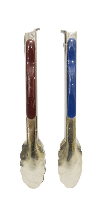 """#801610 STAINLESS STEEL TONGS-10""""  不銹鋼食物夾"""