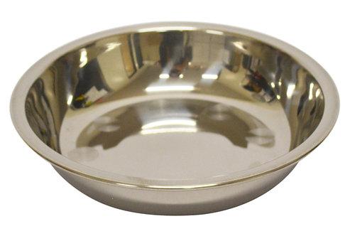 #800159 STAINLESS STEEL PLATE-28 CM 不銹鋼淺盤