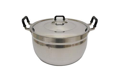 #800333 CROCODILE ALUMINUM COOKING POT-38 CM 鱷魚牌鋁製湯鍋