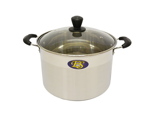 #800161 STAINLESS STEEL COOKING POT-20CM -M不銹鋼(中)湯鍋