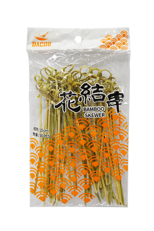 #801819 BAMBOO SKEWER-15cm 花結串