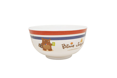 "#807750 MLM BONNE JUNGLE BOWL-5"" 兒童飯碗-熊"