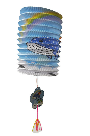 NEW YEAR PAPER LANTERN,ITEM#00808146,卡通手提燈籠(1 PCS)